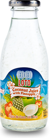Coco Loto Coconut Juice with Pineapple