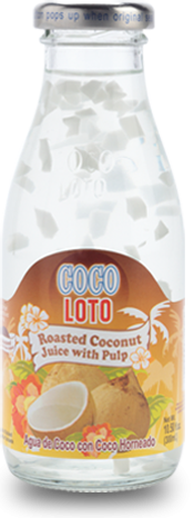 Coco Loto Roasted Coconut Juice with Pulp