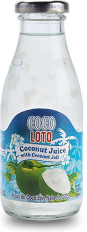 Coco Loto Coconut Juice with Coconut Jell